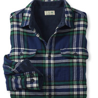 Fleece-Lined Flannel Shirt: Flannel, Chamois and Lined | Free Shipping at L.L.Bean