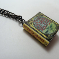 Lord of the Rings by J.R.R. Tolkien Miniature Book Necklace Pendant