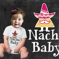 Nacho Baby Girls Graphic T-shirt