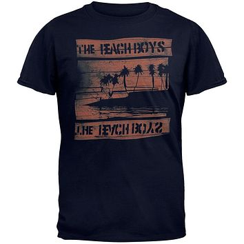 Beach Boys - Night Beach Tour Soft T-Shirt