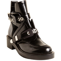 Buckle Strap Ankle Boot
