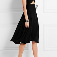 J.W.Anderson - Cutout crepe dress