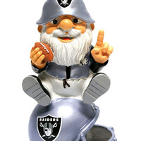 Oakland Raiders Garden Gnome - On Team Logo