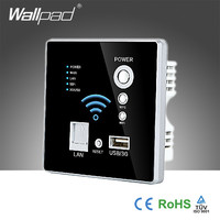 Usb Socket Wall Embedded Wireless Ap Router Phone Wall Charger 3G Wifi Usb Charging Socket Panel Wifi Socket Shipping
