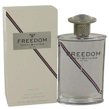 Freedom Eau De Toilette Spray (New Packaging) By Tommy Hilfiger For Men
