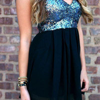 Sequins Chiffon Strapless Sweetheart Mini Homecoming Dresses