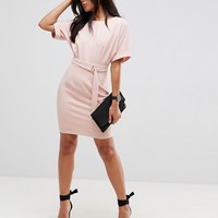 ASOS Ultimate Mini Pencil Dress with D-Ring Belt at asos.com