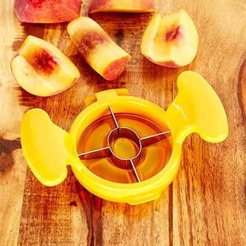 Fruit Prep Perfect Wedge Cutter Slicer for Apples, Peaches,Plums,Nectarines