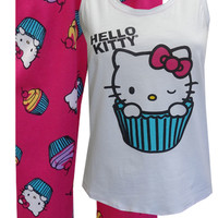 Hello Kitty Cupcake Pajamas