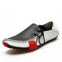 Comfortable Elegant New Causal Leather Loafer Shoes = 6450607875