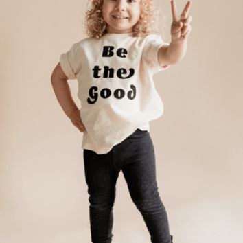 """Kids """"Be the Good"""" Graphic Tee"""