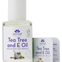 Derma e Tea Tree and E Oil 1 oz
