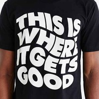 D.U.D.S. Gets Good Tee- Black