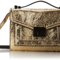 LOEFFLER RANDALL Minrider-VML Cross Body Bag,Gold,One Size