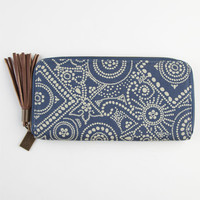 Billabong Floral Nod Wallet Blue One Size For Women 23042620001