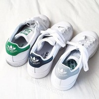 Unisex Men & Women Casual Sport Print Adidas Stan Smith Shoe