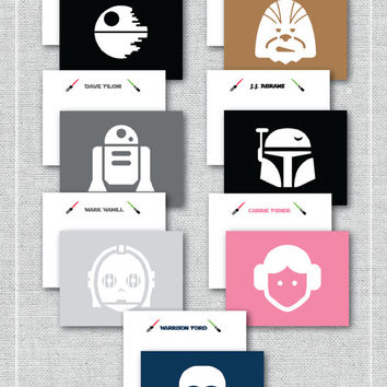 Star Wars Stationery {Set of 15}