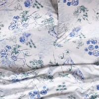 Azalia Sheet Set by Anthropologie Blue Motif