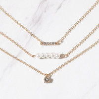 LA Hearts Gold Choker Set at PacSun.com