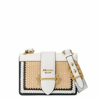 Prada Basket Cahier Crossbody Bag