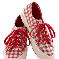 Picnic for One Sneaker in Red
