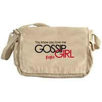 Gossip Girl Messenger Bag on CafePress.com