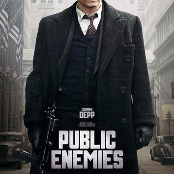 Public Enemies 27x40 Movie Poster (2009)