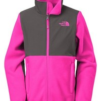 Girl's The North Face 'Denali' Water Resistant Polartec Recycled Fleece Jacket