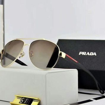 MDIGV9O Prada 2018 New Trendy Polarized Fashion Sunglasses F-A-SDYJ NO.2