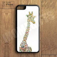 Little Cute Giraffe Plastic Case iPhone 6S 6 Plus 5 5S SE 5C 4 4S Case Ipod Touch 6 5 4 Case iPhone X 8 8 Plus