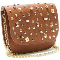 Love Lee Boutique — studded cross-body purse