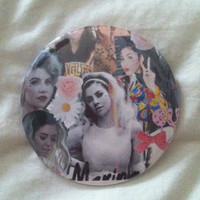 Marina Collage Button