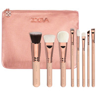 NEW ZOEVA 8 PCS ROSE GOLDEN LUXURY MAKEUP BRUSH SET-in Makeup Brushes & Tools from Health & Beauty on Aliexpress.com | Alibaba Group