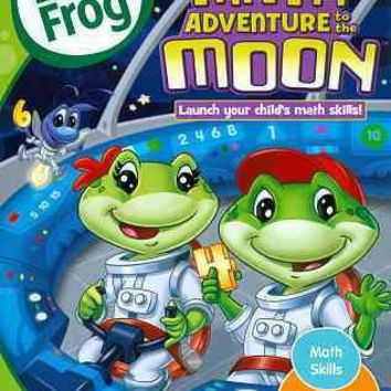 Leapfrog-Math Adventures Moon (Dvd W/26 Bonus Abc Flash Cards)