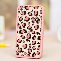 MagicPieces Case for iPhone 5 Sexy Leopard Pink