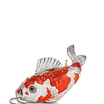 Judith Leiber - Koi Fish Swarovski-Crystal Clutch - Saks Fifth Avenue Mobile