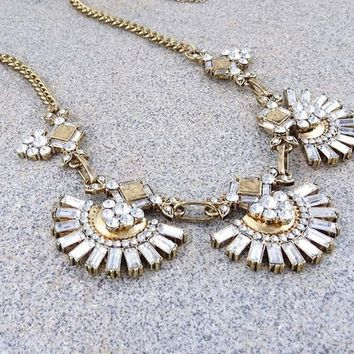 Charleston Bib Necklace