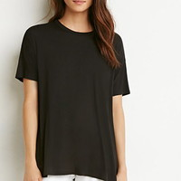 Drop-Sleeve Trapeze Tee