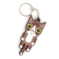 Squishy Cat Key Chain