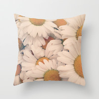 Daisy Daze Throw Pillow by Taylor Halle