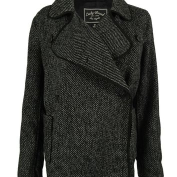 Lucky Brand Women's Long Sleeves Wool Blend Jacket