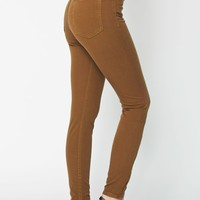 rsart400 - Four-Way Stretch High-Waist Side Zipper Pant