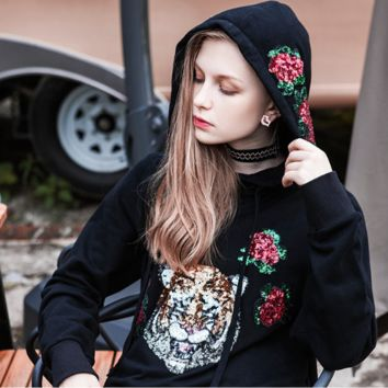 ''Gucci'' Women Embroidery Hot Hoodie Cute Sweater