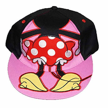 Disney Minnie Mouse Backside Adult Baseball Cap