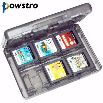 LMFIJ5 28 in 1 Game Protective Card Case Holder Cartridge Box Anti-dust Waterproof Box for Nintendo DS Lite 3DS Video Game Cards