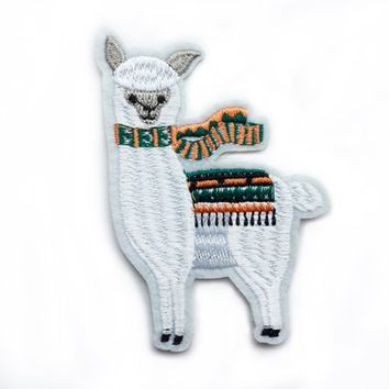 Llama Animal Patches for Bags Fall Gift Iron On Patch Iron Animal Cute Patches for Jackets Patch Embroidery Patches  Stick on Patch