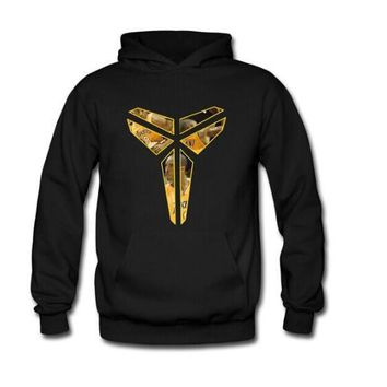 new Spring Autumn Winter Sweatshirt hoodie Black Mamba Kobe Bryant photo basketball inverted triangle Peter Pan