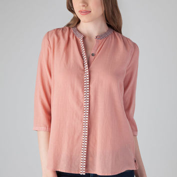 Scotch and Soda Drapy Tunic in Peach