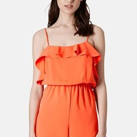 Topshop Ruffle Front