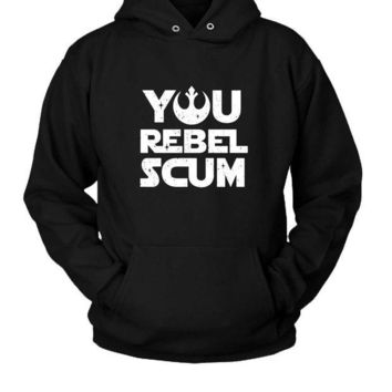 DCCKL83 Star Wars You Rebel Scum Hoodie Two Sided